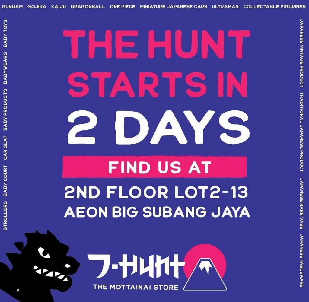 The Hunt Starts in 2days