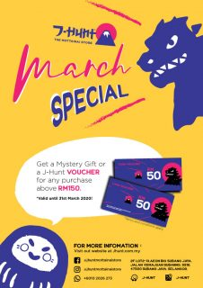MARCH SPECIAL PROMO!